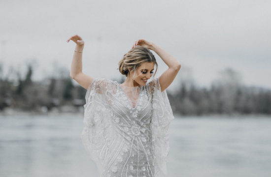 SENSUAL BRIDAL INSPIRATIONS IN SOFT GREY AND BEIGE TONES